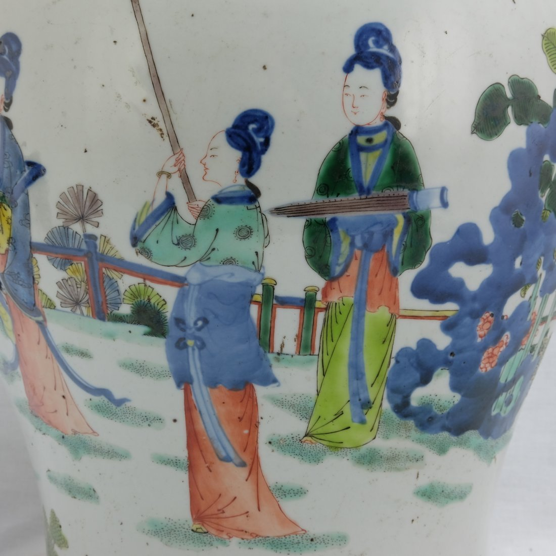 Chinese Five Colored Pot - 6