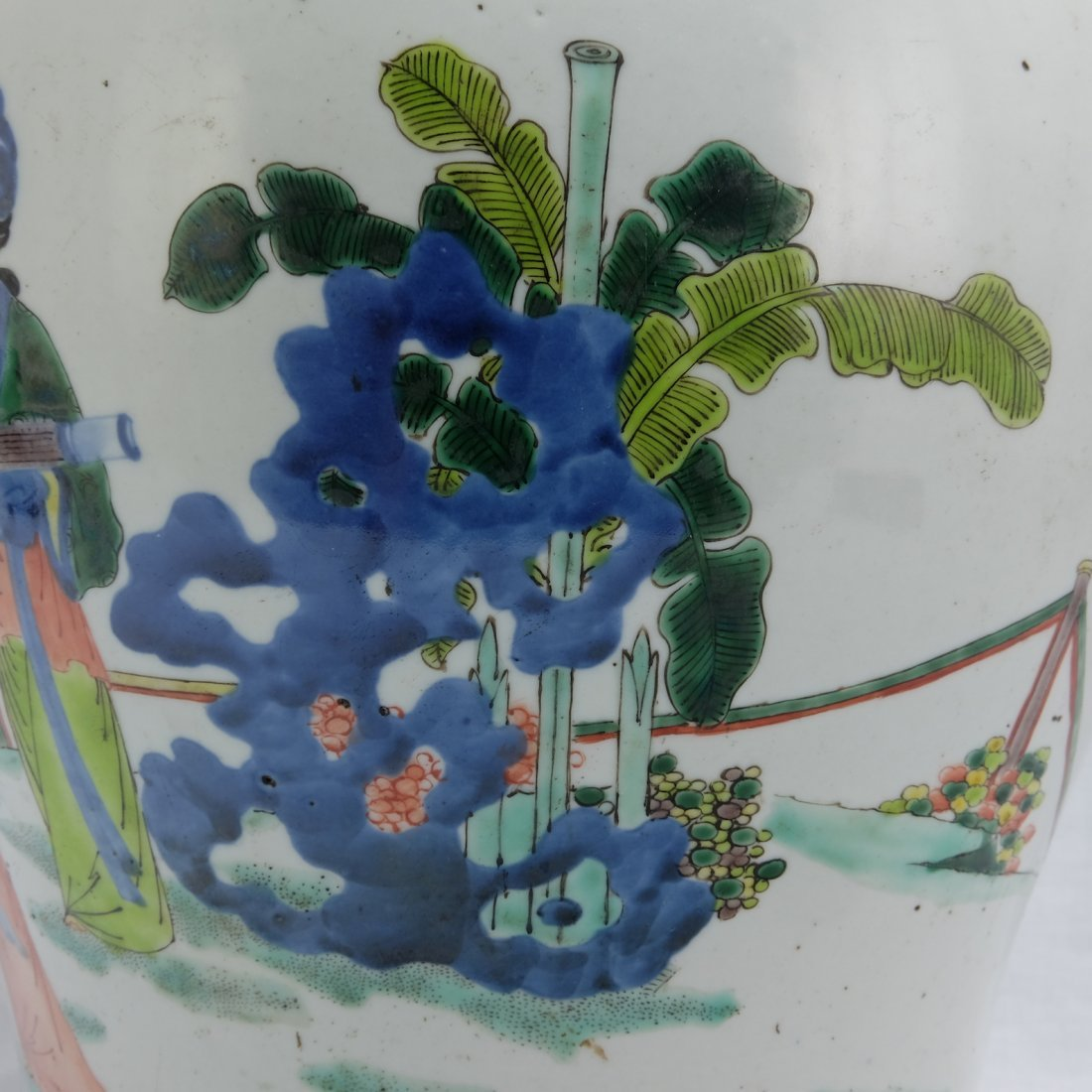 Chinese Five Colored Pot - 7