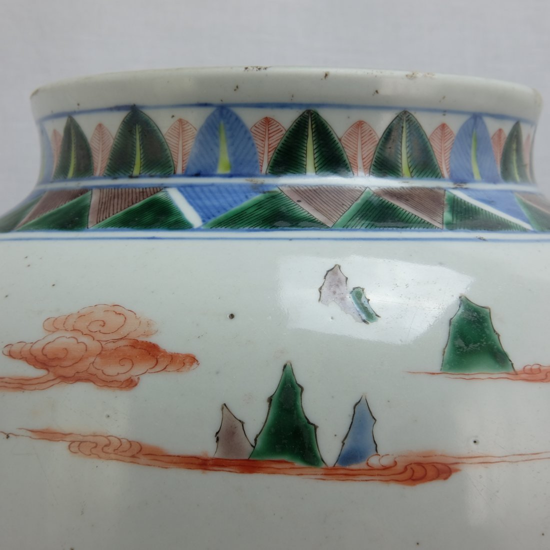 Chinese Five Colored Pot - 8