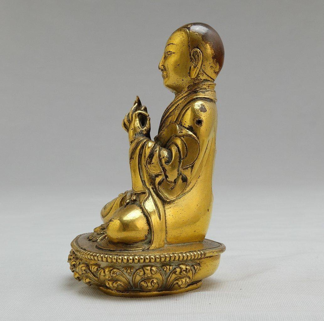 Chinese Gilt Sitting Buddha 2 - 2