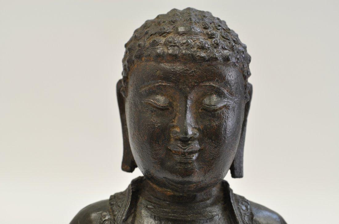 Chinese Ming Sitting Buddha - 2