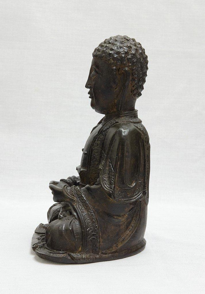 Chinese Ming Sitting Buddha - 3