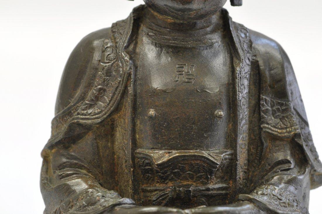 Chinese Ming Sitting Buddha - 8