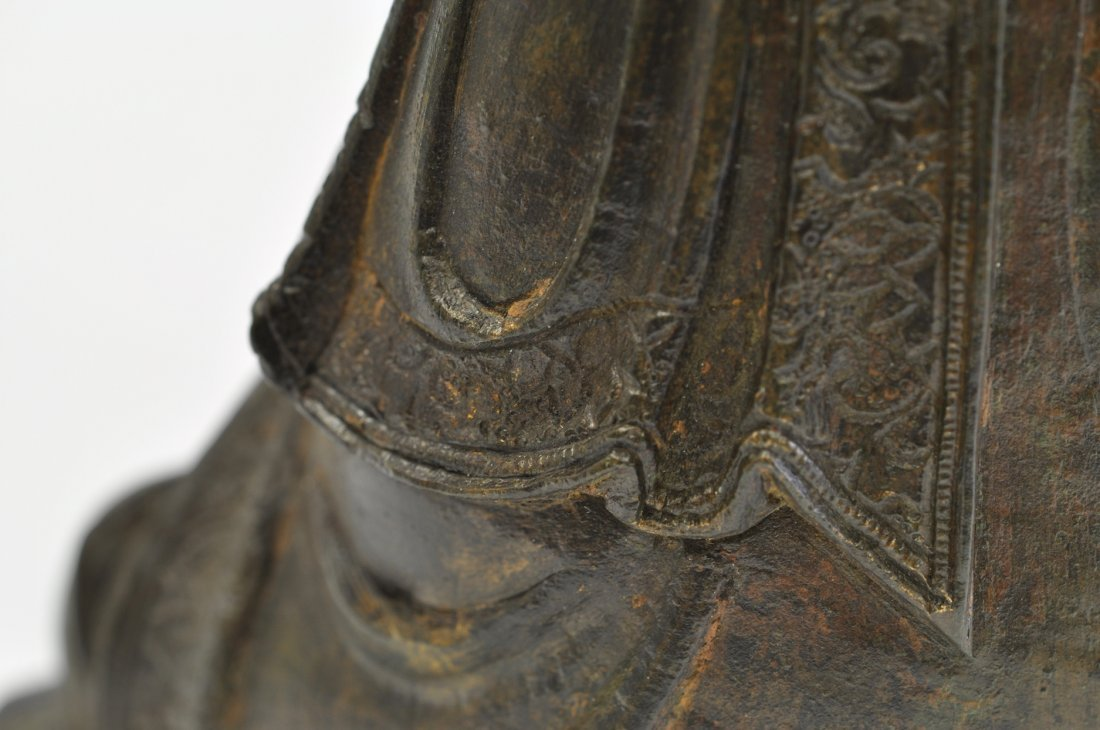 Chinese Ming Sitting Buddha - 9