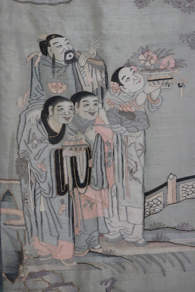 Chinese Extra Long Kesi Panel - 9