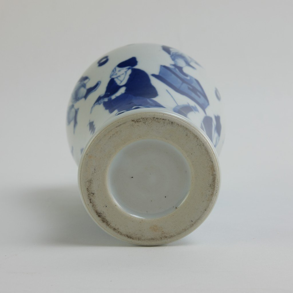 Chinese Blue-white Meiping - 10