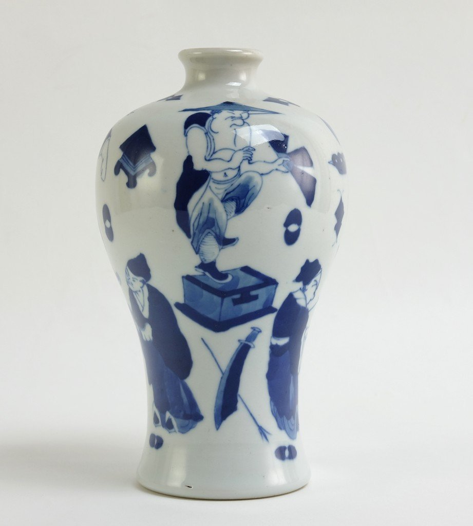 Chinese Blue-white Meiping