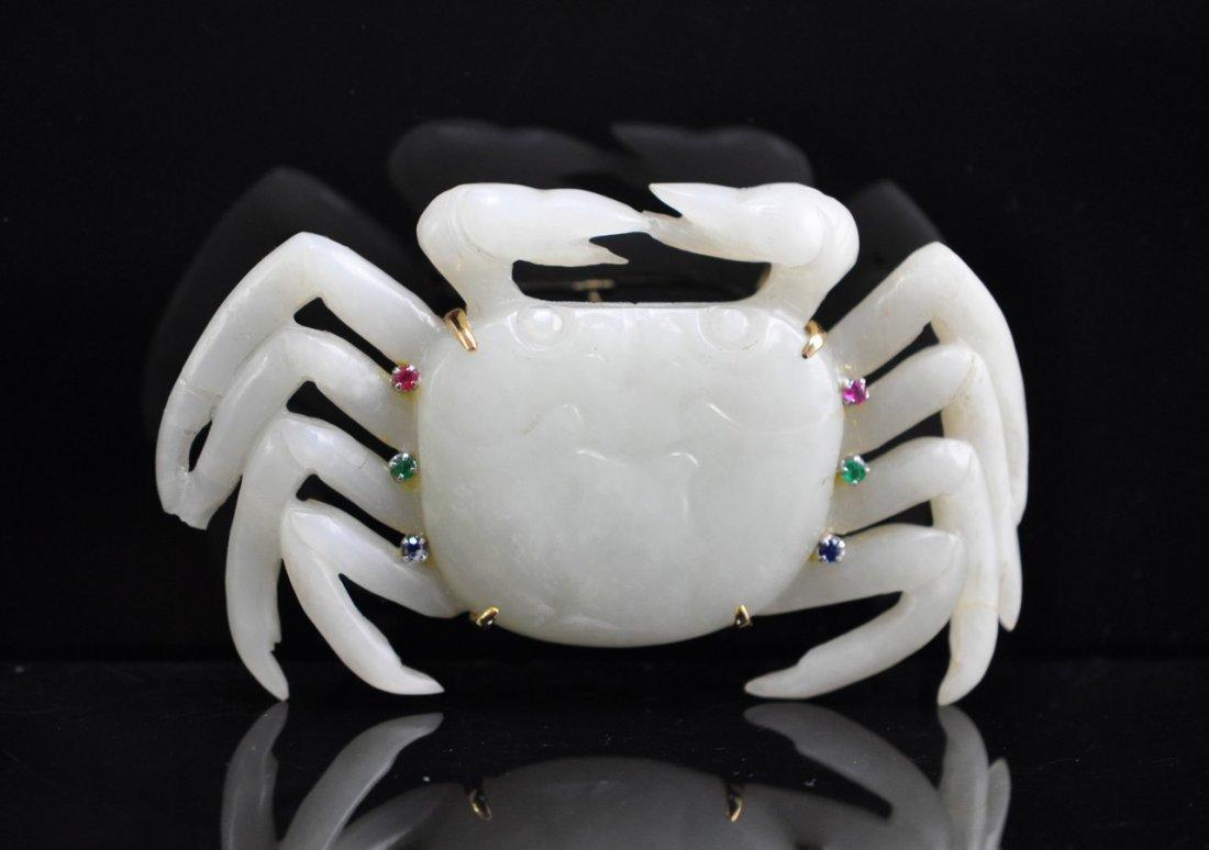 Chinese White Jade Crab