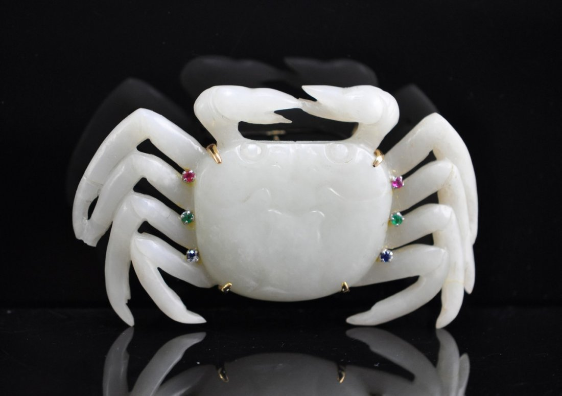 Chinese White Jade Crab
