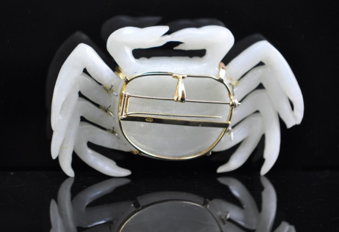 Chinese White Jade Crab - 5