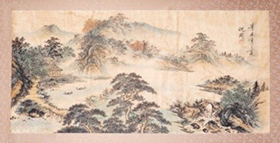 1011: CHINESE SCROLL PAINTING BY SHEN,ZHOU