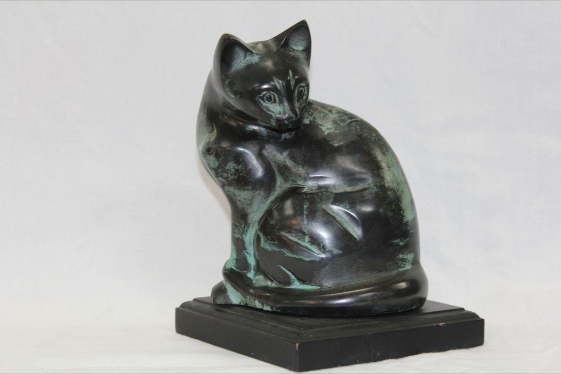 1016: ASIAN BRONZE CAT