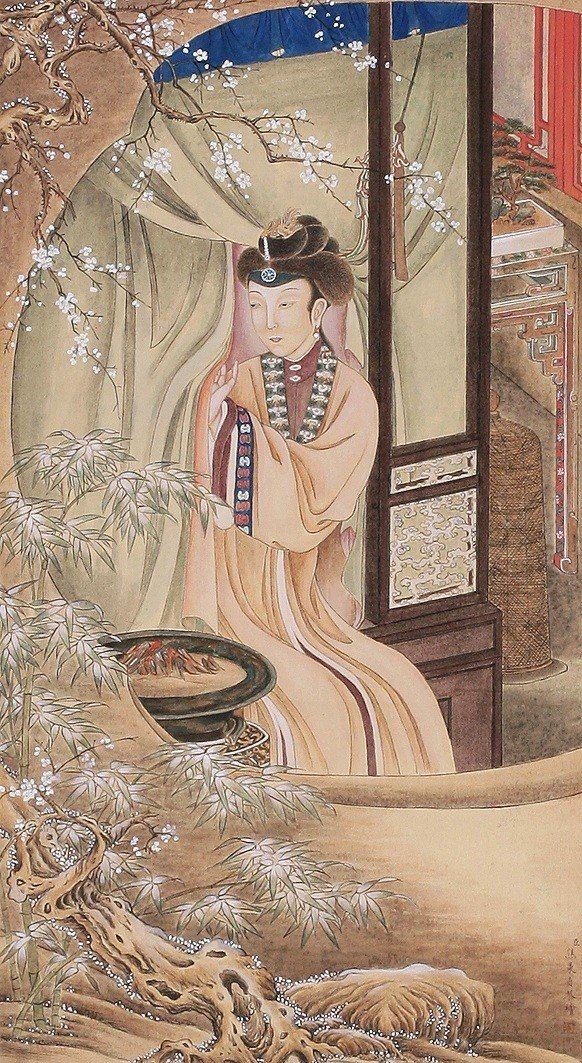 5105: Very fine Chinese  painting