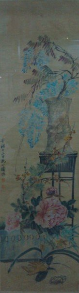 4009: Very fine Chinese painting attributed to Kong,Xia
