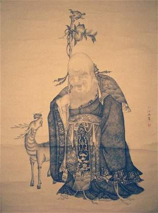 Very fine Chinese painting by Wu,Wei