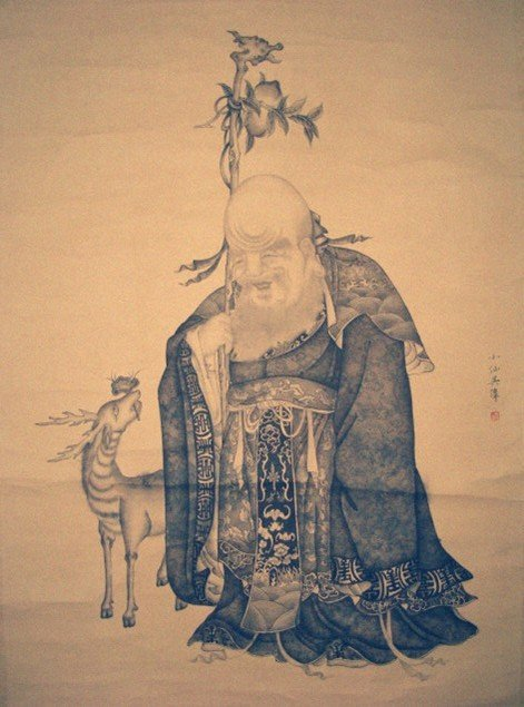 4011: Very fine Chinese painting by  Wu,Wei