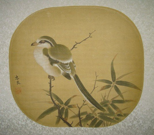 4014: A very fine Chinese painting attributed to Zhong