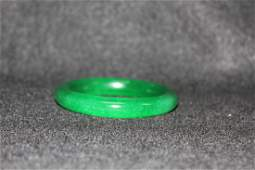 4025: Very fine Chinese  jadeite bangle bracelet