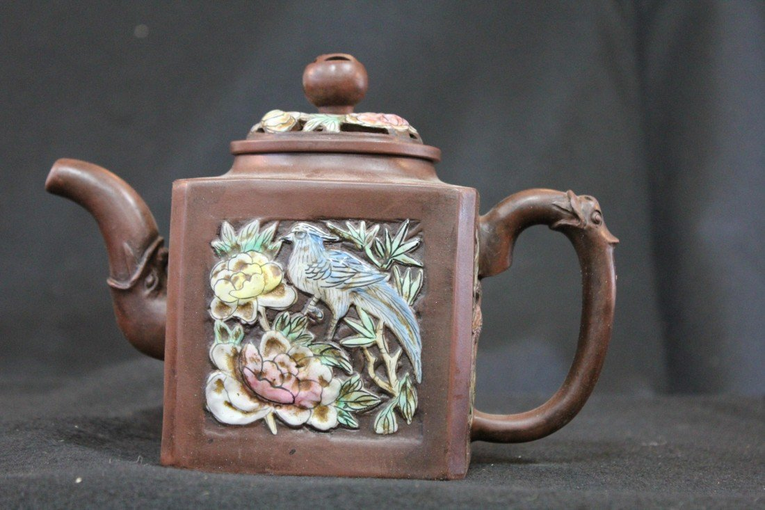 4061: CHINESE SAND TEAPOT