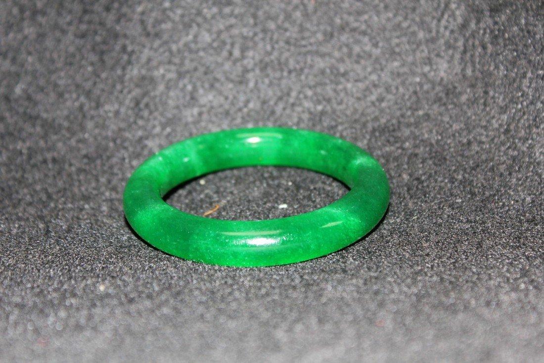 4068: Chinese jade bangle bracelet