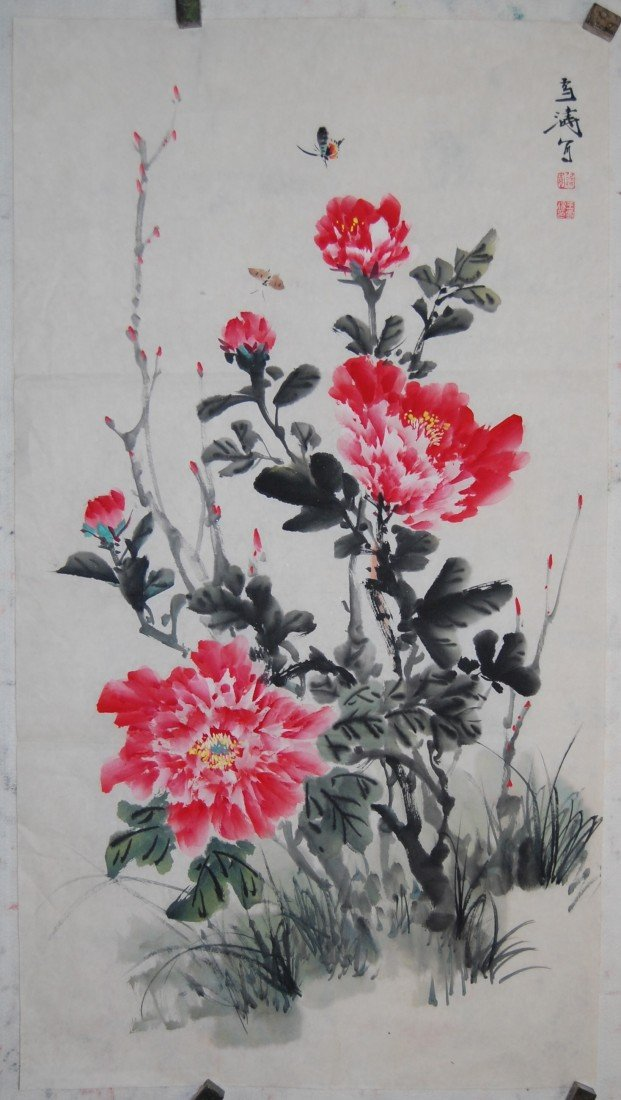 3309: Very nice painting by Wang, xue Tao