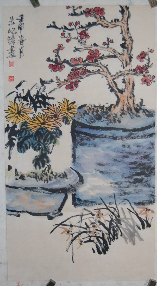 3311: Chinese painting attributed to Zhu,Jizhan