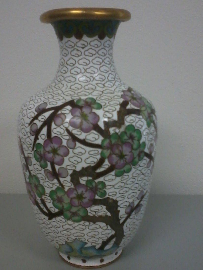 7014: Chinese cloisonne vase