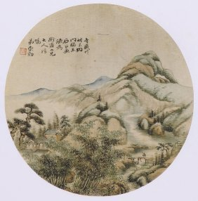 Fine Chinese Painting By Chog Dong