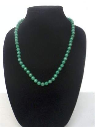 Fine Chinese beaded necklace