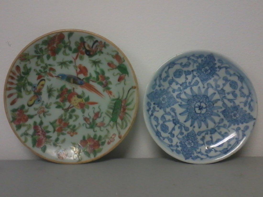 6003: Pair of Asian porcelain plates