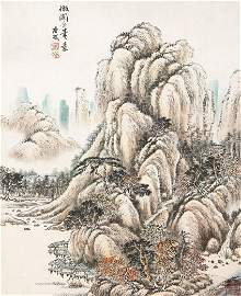 7004A: A very fine Chinese painting by Tang Dai