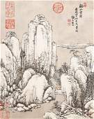 7005A A very fine Chinese painting by Tang Dai