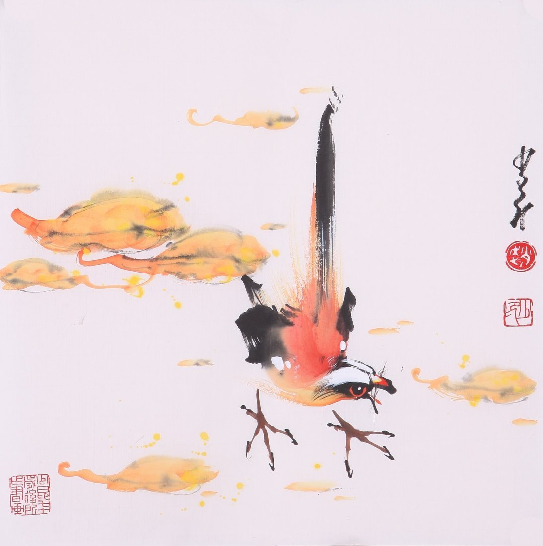 8016: Very fine chinese painting by Zhao Shaoang