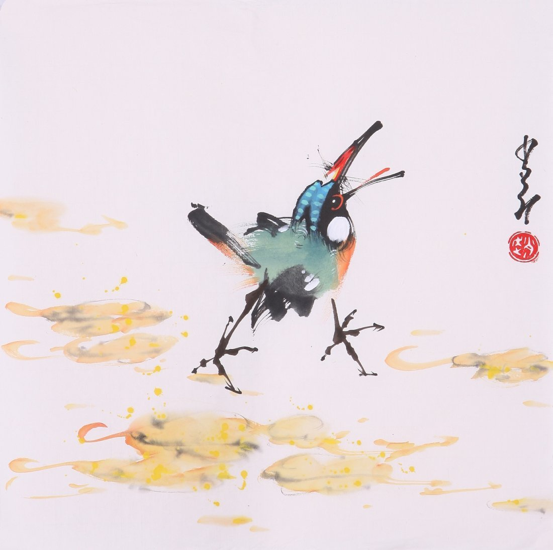 8020: Very fine chinese painting by Zhao Shaoang