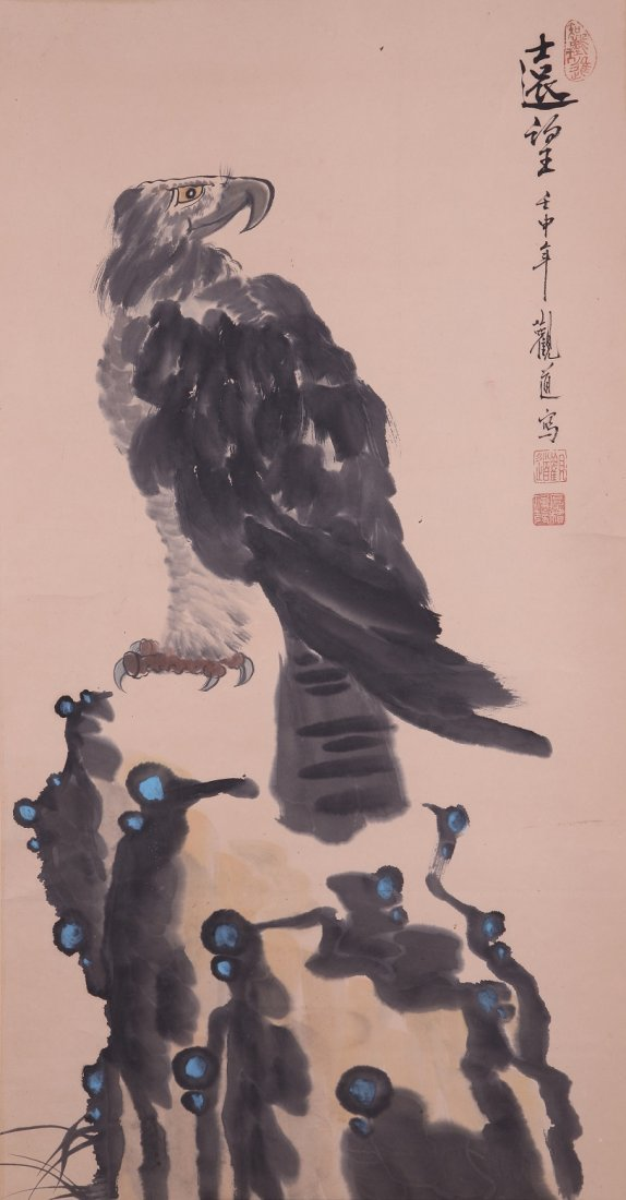 9011: A very fine Chinese painting by Guan Dao