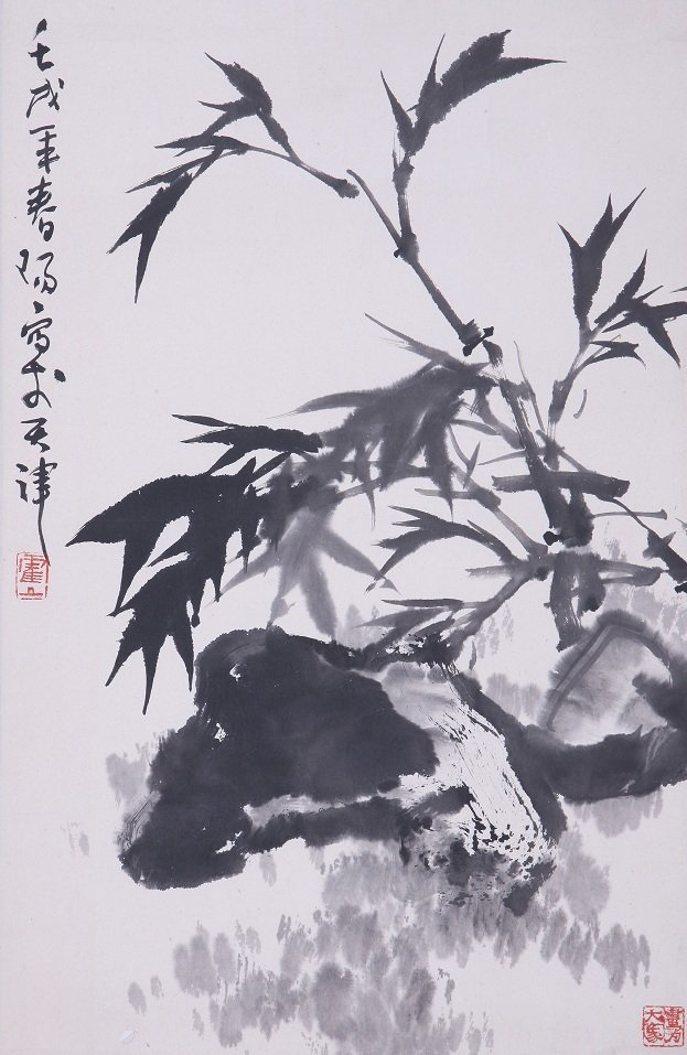 9024: A very fine Chinese painting by Huo Chunyang
