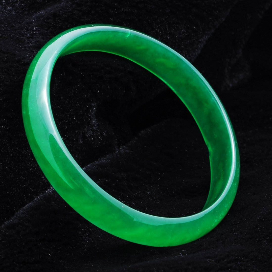 1296: CHINESE JADEITE BANGLE  BRACELET
