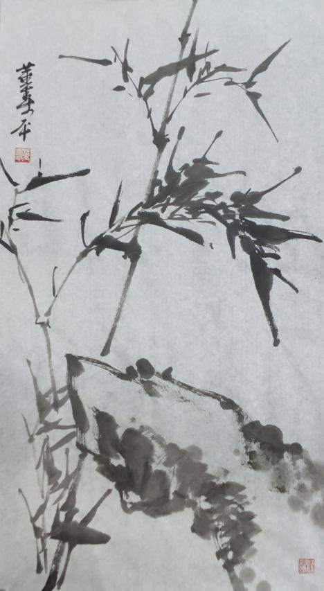 2021: A very fine Chinese painting by Dong Shouping