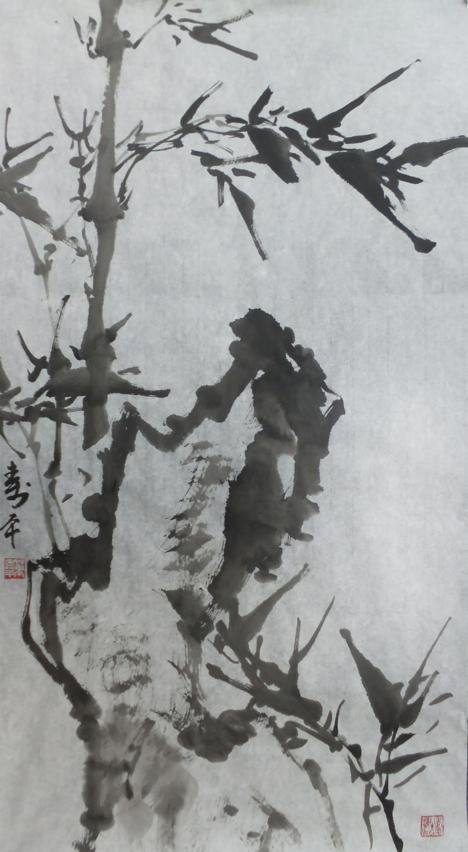2022: A very fine Chinese painting by Dong Shouping