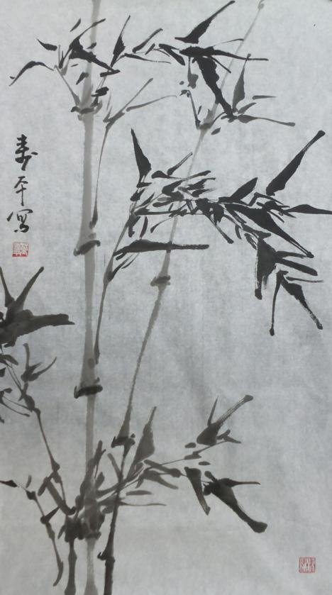 2023: A very fine Chinese painting by Dong Shouping
