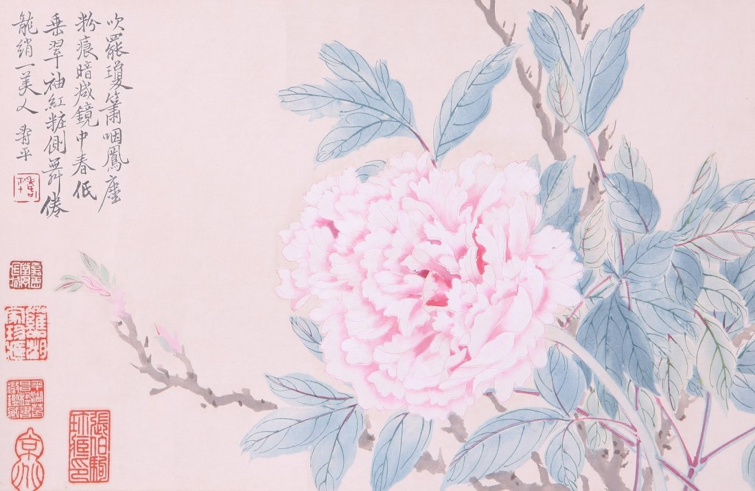 2158: A very fine Chinese painting  by Yun Shouping