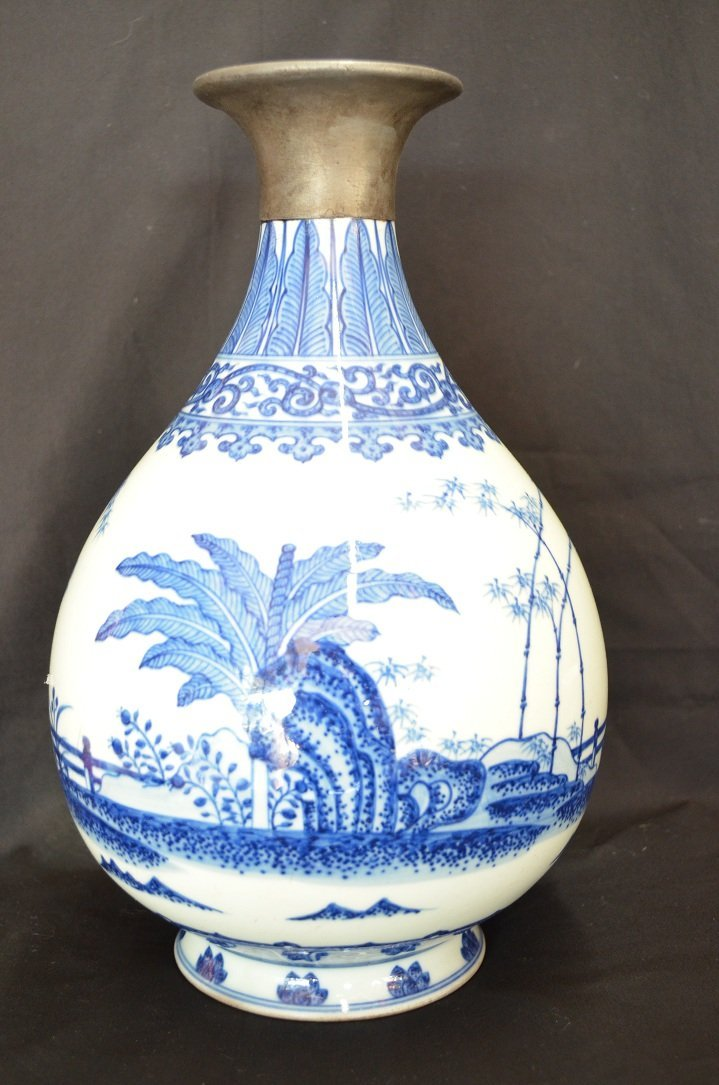 1003: A very fine Chinese vase