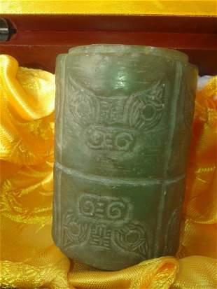 Qing dynasty jade