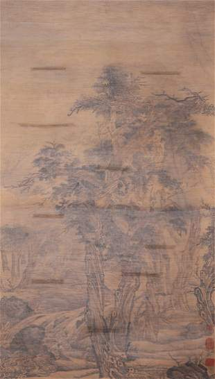 A very fine Chinese paintings