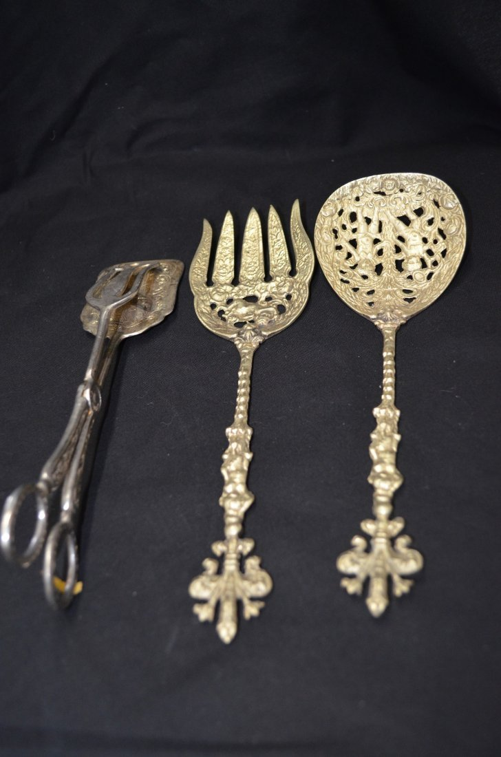 Set of Silver spoons