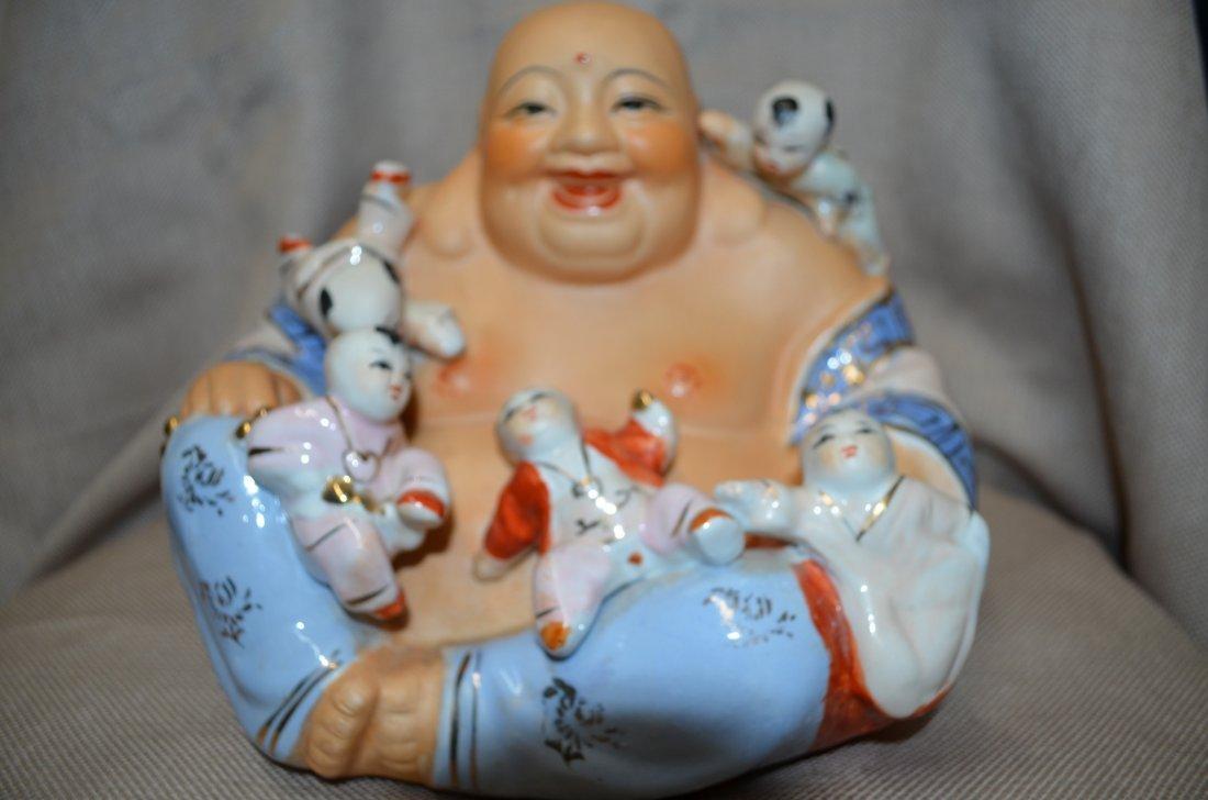 Chinese porcelain happy buddha