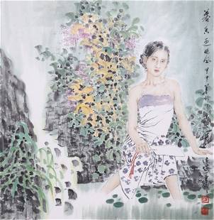 Very fine painting by Zhao JianCheng