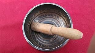 Jinbo Qing Dynasty copper ring