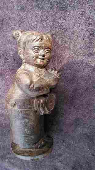 Shen soil wooden doll