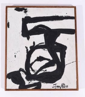 ATTR. FRANZ KLINE ABSTRACT O/B